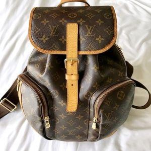 LOUIS VUITTON Monogram Bosphore Backpack Authentic
